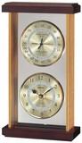 《ギフトにも最適》【高品質温湿度計・時計】スーパーEX温・湿度・時計