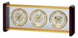 《ギフトにも最適》【高品質気象計・時計】スーパーEX気象計・時計