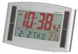 《特別特価品》【カラー電波時計】カラー電波時計・ソーラーエコ