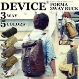 【売れ筋商品!】DEVICE フォルマ 3way リュック/リュックサック/メンズ/ショルダーバッグ