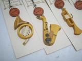 手づくり 木製楽器のストラップ