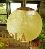 【やわらかい輝きが魅力の天井照明】マニラ麻ペンダントライト