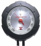 《アウトドアに最適》【測定範囲−50℃〜アナログ温度計】サーモマックス50
