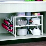 Storage Stretchy Frying Pan Rack Attached Free Rack