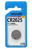 ■乾電池■【◆長時間安定電圧◆】マクセル リチウム電池 CR2025【Maxell】