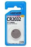 ■乾電池■【◆長時間安定電圧◆】マクセル リチウムコイン電池 CR2032 1個入