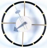 ジョージ・ネルソン ステアリングホイールクロック 掛け時計