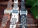 Plating Studs Belt Watch