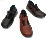 定番!Tストラップ ステッチダウンシューズ-8102 【22.5〜24.5】【3色展開】【革靴】
