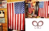 激安アメリカ雑貨★ポップなインテリアに♪いろいろ使える星条旗★看板