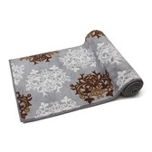 Dress Leaf Mat Dark Gray Interior Kitchen Interior Mat Miscellaneous goods