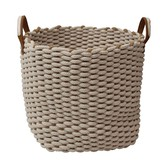 Laundry Basket Rope Square Storage Interior Accessory Bath Product
