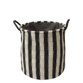 Laundry Basket Stripe Interior Accessory Bath Product