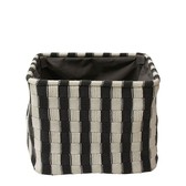 Laundry Basket Stripe Square Interior Accessory Bath Product