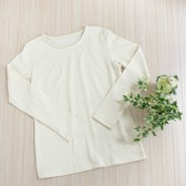 hemp Raised Back Long Sleeve T-shirt