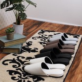 Mode Slipper 4 Colors Modern Event Visitor Synthetic Leather Slipper Toilet Fabric