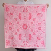 Square Double Gauze Pink