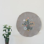 Linen Flower Vase