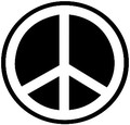 import mini sticker  GS-033 Peace  【mini】