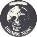 NO. BC-032 DISARM NOW! 44mm 輸入アメリカン雑貨メッセージ 缶バッジ