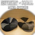 ★SQUALLカスタムNYH別注 ♪ NEWYOERK HAT  MIXED SPITFIRE 10268