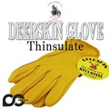 NAPAGLOVE 800TL GOLD DEERSKIN DRIVER EXTRA WARM THINSULATE  15101 防寒!