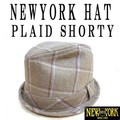 NEWYORK HAT #5535 PLAID SHORTY