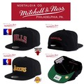 Mitchell&Ness WOOL SOLID 2 LOGO SNAP 13184
