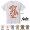 "【DEEDOPE】""DREAM BIG NEVER QUIT"" 半袖 プリント Tシャツ 綿100% カットソー"