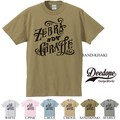 "【DEEDOPE】""ZEBRA AND GIRAFFE"" 半袖 プリント Tシャツ 綿100% カットソー"