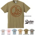 "【DEEDOPE】""PEACE"" 半袖 プリント Tシャツ 綿100% カットソー ピース"