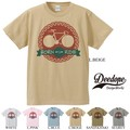 "【DEEDOPE】""BORN TO RIDE"" 半袖 プリント Tシャツ 綿100% カットソー 自転車"
