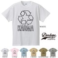 "【DEEDOPE】""KARMA"" 半袖 プリント Tシャツ 綿100% カットソー リサイクル"