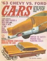 ポスターS(ps009) / CARS '63 CHEVY VS. FORD