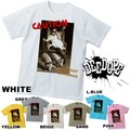 "【DEEDOPE】 ""CAUTION"" 半袖 プリント Tシャツ 綿100% カットソー"