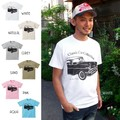 "【DEEDOPE】""CLASSIC CAR COLLECTION"" 半袖 プリント Tシャツ 綿100% カットソー 車"
