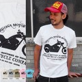 "【DEEDOPE】""MOTORCYCLE COMPANY"" 半袖 プリント Tシャツ 綿100% カットソー バイク オートバイ"