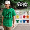 "【DEEDOPE】""CARPENTER"" 半袖 プリント Tシャツ 綿100% カットソー 工具"
