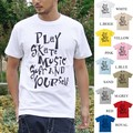 "【DEEDOPE】""PLAY YOUR SELF"" 半袖 プリント Tシャツ 綿100% SKATE MUSIC SURF"