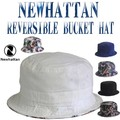 NEWHATTAN REVERSIBLE BUCKET HAT  13581