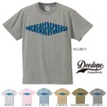 "【DEEDOPE】  ""INCREASE DECREASE "" 半袖 プリント Tシャツ 綿100% カットソー"