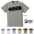 "【DEEDOPE】  ""AVENUE AVENUE"" 半袖 プリント Tシャツ 綿100% カットソー"