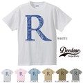 "【DEEDOPE】  ""R WORDS"" 半袖 プリント Tシャツ 綿100% カットソー"