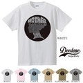 "【DEEDOPE】  ""MOTHER"" 半袖 プリント Tシャツ 綿100% カットソー"