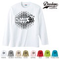 "【DEEDOPE】 ""PERFECTLY "" ロンT 長袖 プリント Tシャツ"