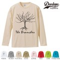 "【DEEDOPE】 ""BRANCHES "" ロンT 長袖 プリント Tシャツ"