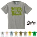 "【DEEDOPE】 ""YOU "" 半袖 プリント Tシャツ"