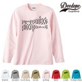 "【DEEDOPE】 ""PITCH PERFECT "" ロンT 長袖 プリント Tシャツ"