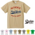 "【DEEDOPE】 ""RUTHENTIC "" 半袖 プリント Tシャツ"