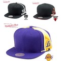 Mitchell&Ness Blank Front Short Hook Snap  14356